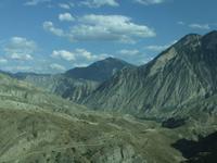 Fahrt durch die Berge