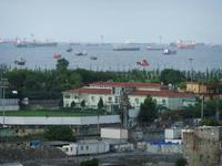 Blick vom Hotel auf das Marmarameer