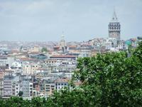 Blick vom Palast auf Istanbul