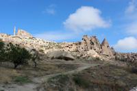 Panoramablick im Tal der Tauben