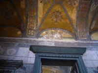 Türkei, Istanbul, Stadtrundgang, Kaisertor in  der Hagia Sofia