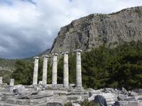 Türkei, Priene, Athena Polias Tempel