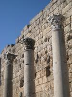 korynthische Säulen in Perge