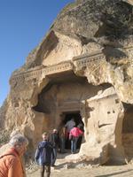 Ayazini, Höhlenkirche