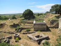 Besichtigung der antiken Ausgrabung von Troja