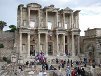 antiken Ausgrabungen von Ephesus