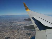 Im Landeanflug auf Antalya