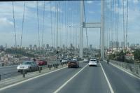 auf der Europabrücke in Istanbul