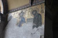 Wandgemälde in der Hagia Sophia