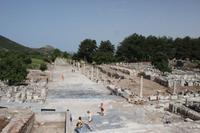 Ausblick in Ephesus