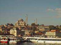 Süleymaniya vom Boot aus gesehen