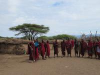 Ngorongoro Nationalpark - Besuch bei den Massai