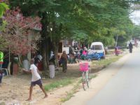 Rückfahrt zum Resort - Impressionen am Straßenrand