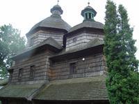 Žovkva: Holzkirche