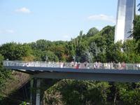 Kiew: Klitschko-Brücke