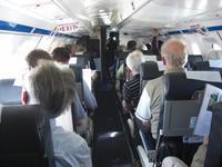 Im kleinsten Flugzeug