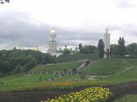 Kiew - Blick auf das Höhlenkloster