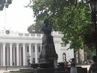 Puschkin - Denkmal in Odessa