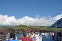 Bootsfahrt entlang der Nord-Ost-Küste von Big Island