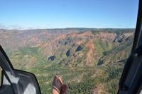 Spektakulär - Flug über den Waimea Canyon