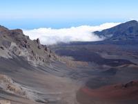 Maui, Vulkan Haleakala - Blick vom Gipfel in die Kraterlandschaft