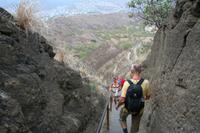Abstieg vom Daimond Head