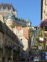 Bummel durch die Unterstadt zum Place Royale von Québec in Kanada