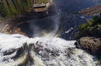 Besuch des Montmorency-Wasserfalls bei Québec