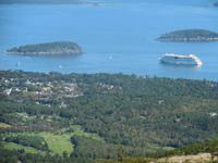 Blick vom  Berg Cadiallac im Acadia-Nationalpark