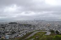 Blick von den Twin Peak auf San Francisco (3)