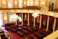 Kongressraum im California State Capitol in Sacramento