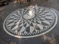 Lenon Denkmal im Central Park