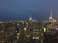 Top of the Rock - Ausblick auf das Empire State Building