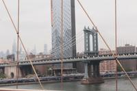 Spaziergang über die Brooklyn Bridge