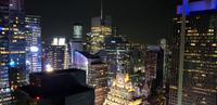 Times Square - New York - Blick von der Skybar 53