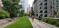 New York - Spaziergang im Highline Park