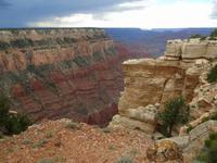 am Grand Canyon