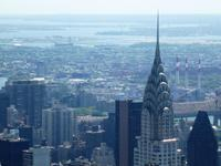 New York, Blick zum Chrysler Building