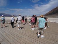 Death Valley - Badwater Point / 85 Meter unter Meeresspiegel