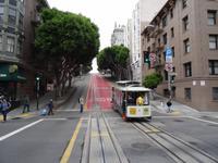 San Francisco - Cable Car Fahrt