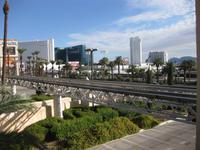 Las Vegas mit Hochbahn