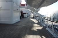 Sonnendeck der Queen Mary