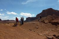 Wir im Monument Valley