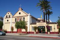 Olvera Street, Grundsteinlegung von Los Angeles