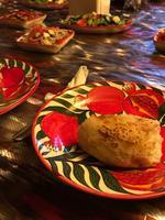 Taschkent Abendessen bei einer Familie