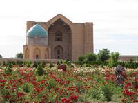 Mausoleum von Rabia Sultan Begim & Hodscha Ahmad Yasawi