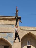 Akrobatikvorstellung exklusiv für Eberhardt