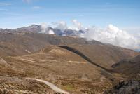 Blick auf die umliegenden Berge am Andenpass