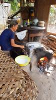 Reispapierzubereitung
