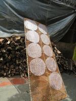 Reispapierherstellung im Mekong-Delta